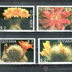 Sellos: GUYANA 1769MN/9MR SIN CHARNELA, FLORES DE CACTUS, . Lote 25269987