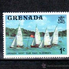 Sellos: GRENADA 558 SIN CHARNELA, DEPORTE, BARCO DE VELA, . Lote 25207243