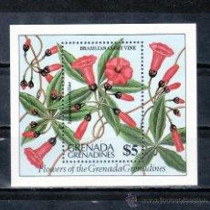 Sellos: GRENADA-GRENADINE HB 78 SIN CHARNELA, FLORES, . Lote 25115507
