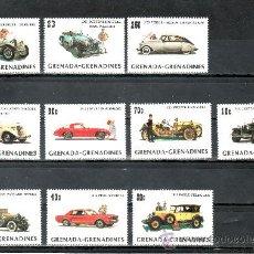 Sellos: GRENADA-GRENADINE 484/93 SIN CHARNELA, AUTOMOVIL, 75º ANIVERSARIO DEL MODELO -T- DE FORD. Lote 25127926