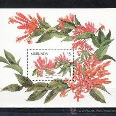 Sellos: GRENADA HB 116 SIN CHARNELA, FLORES, . Lote 25130908