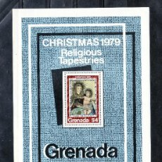 Sellos: GRENADA HB 83 SIN CHARNELA, NAVIDAD, TAPICES RELIGIOSOS, . Lote 25131244