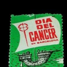 Sellos: SELLO ORIGINAL DÍA DEL CANCER EN BARCELONA, 6 MAYO 1961. . Lote 26021656