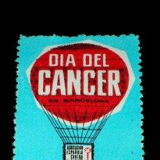 Sellos: SELLO ORIGINAL DÍA DEL CANCER EN BARCELONA, 5 MAYO 1962. . Lote 26021720