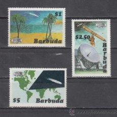 Sellos: BARBUDA 808/10 SIN CHARNELA, PASO DEL COMETA HALLEY . Lote 26643540