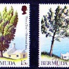 Sellos: BERMUDA AÑO 1973 YV 286/89*** AÑO DE LOS ÁRBOLES - FLORA - NATURALEZA. Lote 28029474