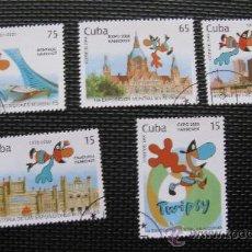 Sellos: CUBA 1999 HISTORIA DE LAS EXPOSICIONES MUNDIALES. Lote 29089834