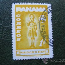 Sellos: 1964 PANAMA, REHABILITACION DE MENORES, YVERT 380. Lote 29815790