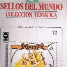 Sellos: SELLOS DEL MUNDO Nº 72, COLECCIÓN TEMÁTICA, FOLKLORE. Lote 241975660