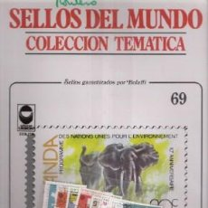 Sellos: SELLOS DEL MUNDO Nº 69, COLECCIÓN TEMÁTICA, CAMPAÑAS MUNDIALES. Lote 241975845