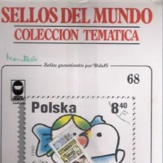 Sellos: SELLOS DEL MUNDO Nº 68, COLECCIÓN TEMÁTICA, ORGANISMOS INTERNACIONALES. Lote 241975990