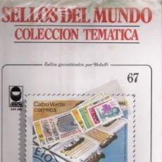 Sellos: SELLOS DEL MUNDO Nº 67, COLECCIÓN TEMÁTICA, LA INDUSTRIA. Lote 241976055