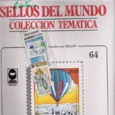 Sellos: SELLOS DEL MUNDO Nº 64, COLECCIÓN TEMÁTICA, HISTORIA DE LA AVIACIÓN. Lote 241976490