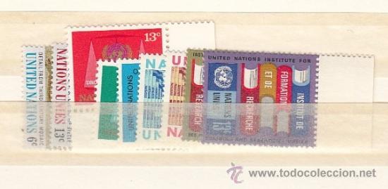NN.UU. NUEVA YORK 186/92, 195/6 SIN CHARNELA, AÑO 1969 VALOR CAT 3.60 EUROS + (Sellos - Extranjero - América - Otros paises)