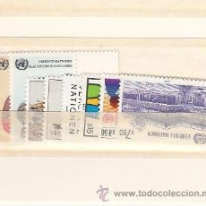 Sellos: NN.UU. VIENA 47/54 SIN CHARNELA, AÑO 1985 VALOR CAT 16 EUROS +. Lote 32587184