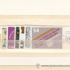 Sellos: NN.UU. VIENA 16/22 SIN CHARNELA, AÑO 1981 VALOR CAT 10.60 EUROS +. Lote 32587222