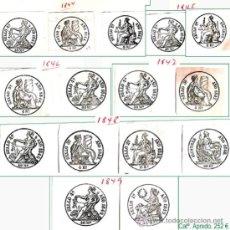 Sellos: RESTO DE COLECCION DE SELLOS FISCALES DE ESPAÑA. APROX. CATº +3.230 € VER 20 PLANCHAS Y CONDICIONES. Lote 34408084
