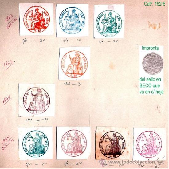 Sellos: PLANCHA VI.- Lote con 9 piezas. Precio 81 € - Foto 6 - 34408084