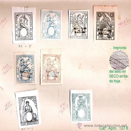 Sellos: Plancha IX.- Lote con 8 piezas. Su precio 63 € - Foto 9 - 34408084