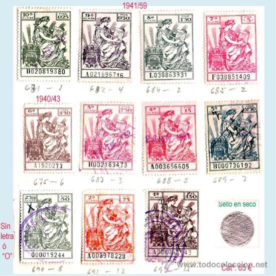 Sellos: Plancha XVIII.- Lote con 11 piezas. Su precio 33 € - Foto 15 - 34408084
