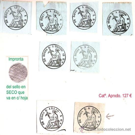 Sellos: Plancha XX.- Lote con 8 piezas. Su precio 64 € - Foto 17 - 34408084