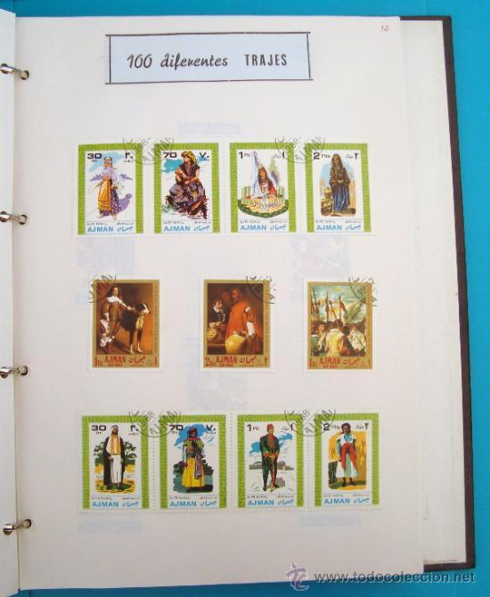 Motivos 100 Diferentes Comics Sellos Topical Stamps