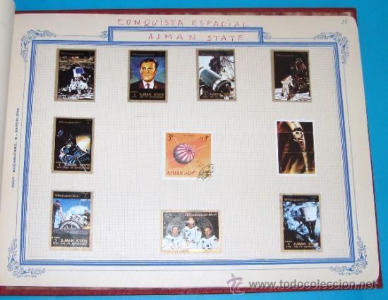 Sellos: ALBUM DE SELLOS DE AJMAN, DUBAI, FRUJEIRA, VIETNAM - Foto 36 - 36536651