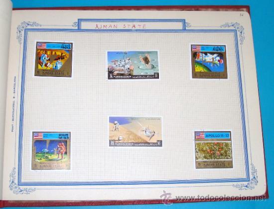 Sellos: ALBUM DE SELLOS DE AJMAN, DUBAI, FRUJEIRA, VIETNAM - Foto 37 - 36536651
