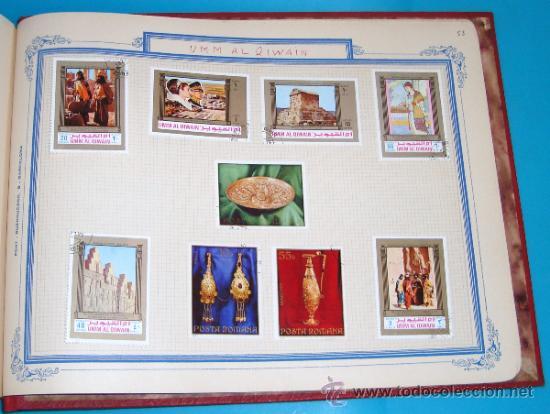 Sellos: ALBUM DE SELLOS DE AJMAN, DUBAI, FRUJEIRA, VIETNAM - Foto 54 - 36536651