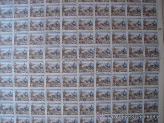 HOJA DE 100 SELLOS FILATEM-86 FARO DE CALELLA.VALOR 35 PESETAS. (Sellos - Temáticas - Varias)