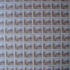 Sellos: HOJA DE 100 SELLOS FILATEM-86 FARO DE CALELLA.VALOR 35 PESETAS.. Lote 37214216