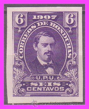 HONDURAS 1907 IVERT Nº 103S (*) RARO (Sellos - Extranjero - América - Otros paises)