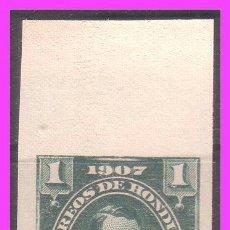 Sellos: HONDURAS 1907 IVERT Nº 100S (*) RARO, ERROR. Lote 40835890