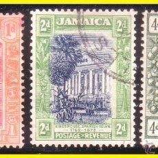 Sellos: JAMAICA 1920 IVERT Nº 82 A 88 (O). Lote 41211769