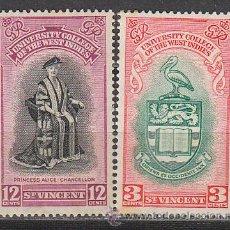 Sellos: SAN VICENTE Nº 174/5, UNIVERSIDAD DE LAS INDIAS ORIENTALES, NUEVO***. Lote 158393905