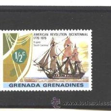 Sellos: GRENADA GRENADINES 1976 - YVERT NRO. 157 - CHARNELA. Lote 43299614