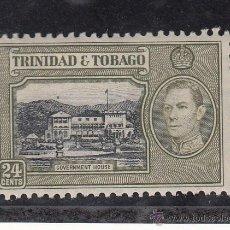 Sellos: TRINIDAD & TOBAGO 145 CON CHARNELA, . Lote 43391220