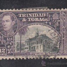 Sellos: TRINIDAD & TOBAGO 144 USADA, . Lote 43391226