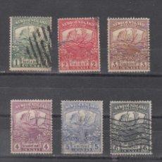 Sellos: TERRANOVA 100/5 USADA, FAUNA, REGRESO DE LAS TROPAS DE TERRANOVA DE LA GUERRA DEL 1914. Lote 43406026