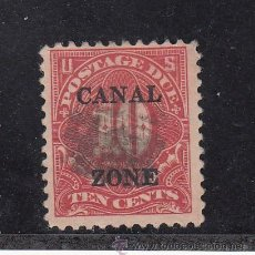 Sellos: PANAMA ZONA CANAL TASA 13A USADA, . Lote 43505148