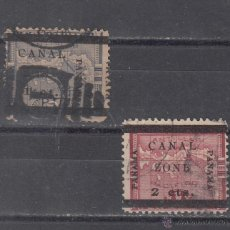 Sellos: PANAMA ZONA CANAL 16/7 USADA, . Lote 43505234