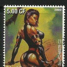 Sellos: SELLO DE SWORD MISTRESS DE LA HISTORIETA X- WOMEN- SERIE FANTASIA - DIBUJOS EROTICOS . Lote 43704160