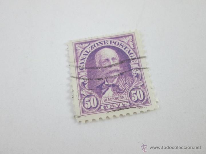 Sellos: AºSELLO-PANAMÁ-50 CENTS-BLACKBURN-PERFECTO ESTADO-. - Foto 2 - 43917997