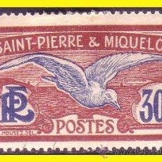 Sellos: SAINT PIERRE ET MIQUELON 1922 YVERT Nº 112 *. Lote 44210191