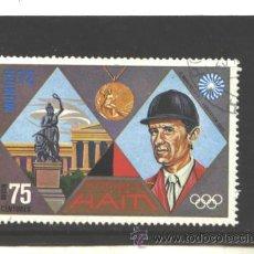 Selos: REPUBLICA DE HAITI 1972 - YVERT NRO. 497 PA - USADO. Lote 44819246