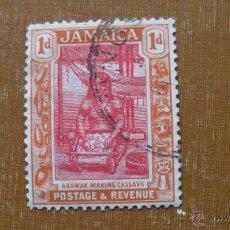Sellos: JAMAICA 1920, MUJER ARAWAK, YVERT 83. Lote 46958694