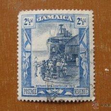 Sellos: JAMAICA 1920, REGRESO DE LA GUERRA, YVERT 85. Lote 46958780