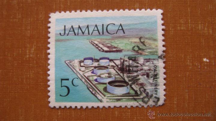 JAMAICA 1972, REFINERIA DE PETROLEO, YVERT 357 (Sellos - Extranjero - América - Otros paises)