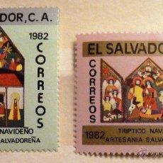 Selos: SELLOS EL SALVADOR 1982. NAVIDAD . NUEVOS.. Lote 47596106