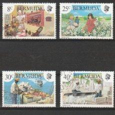 Sellos: BERMUDA. 1981. SERIE.* 1981 HERITAGE WEEK. SET .MH.. Lote 47616980